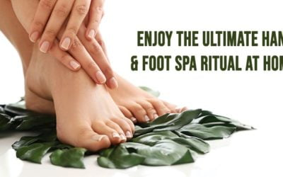 Enjoy the ULTIMATE Hand & Foot Spa Ritual at home!