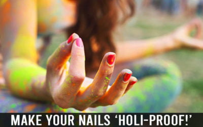 Make your Nails 'HOLI-Proof!'